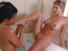 Anissa Kate together with Eva Parcker are two deliciously sexy curvy