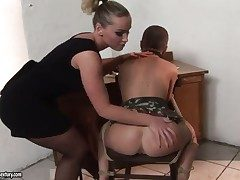 Peaches and Kathia Nobili are get-at-able to lick
