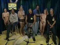 Handsome fuckable girls are getting naked during this diverting show